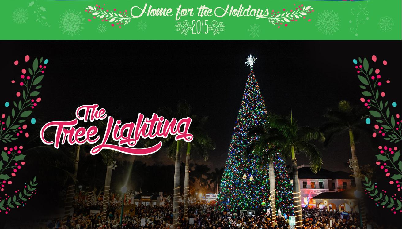 delray Beach 100ft Christmas-tree